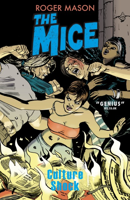 The stunning cover art to the latest Mice book from Roger Mason